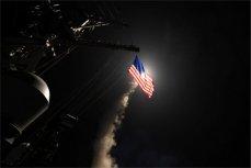 """Запуск ракеты с корабля """"Портер""""."""
