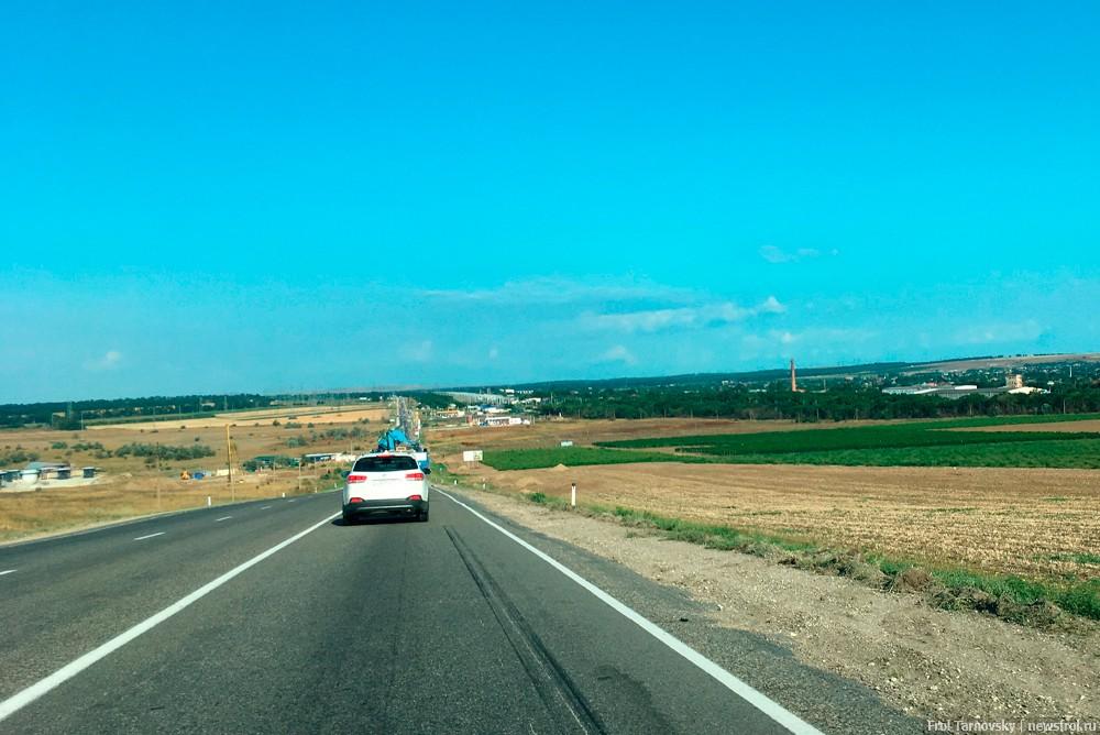 Дорога на Крымский мост