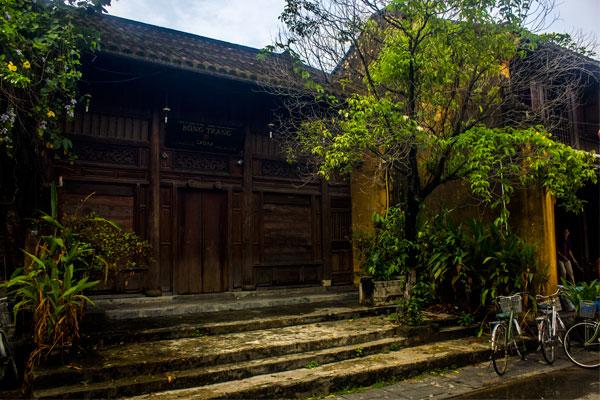 Старинный частный дом в Хойане. Вьетнам.