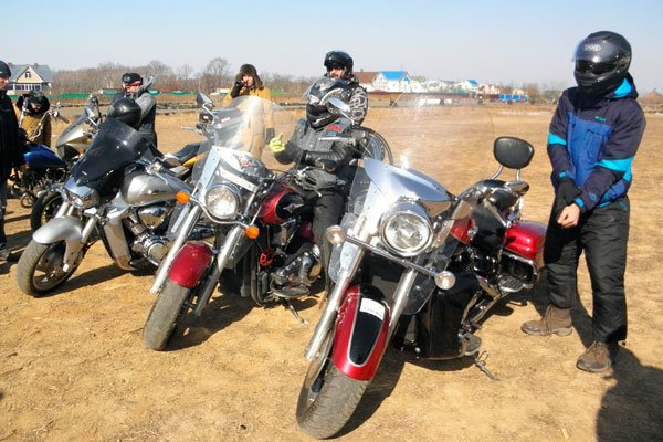 Приморские мотоциклисты