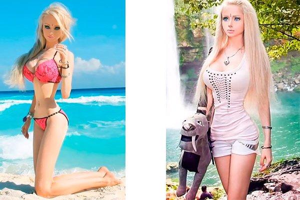 Валерия Лукьянова «Одесская Барби», не признаётся, что делала операцию по удалению рёбер