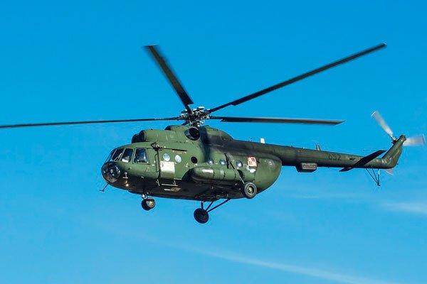 Крушение вертолёта МИ-8