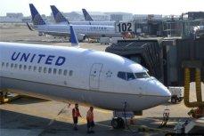 "Самолёт авикомпании ""United""."