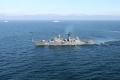 Военный корабль Балтийского флота.