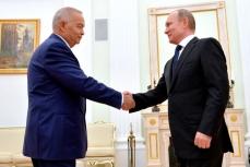 Президент Узбекистана Ислам Каримов и президент России Владимир Путин