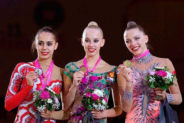 Чемпионат мира по художественной гимнастике.