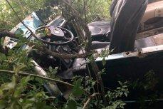 Внедорожник «Газ-69» упал в ущелье в Геленджике