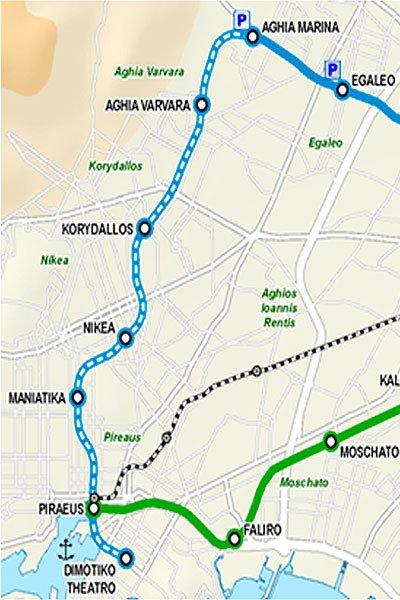 Расширение третьей линии афинского метро