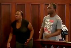 Месть в зале суда