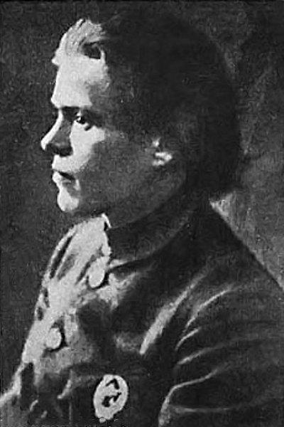 Уникальная фотография Нестора Махно. На груди знак командира Красной Армии, 1919 год