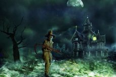 Дом с привидениями.