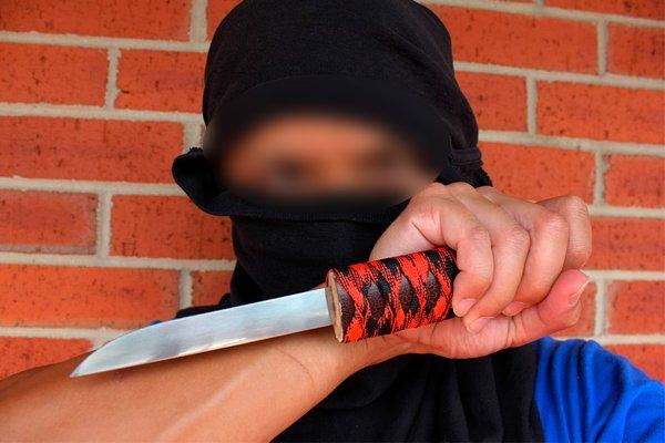Убийца с ножом