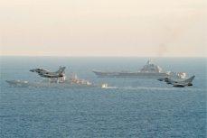 """""""Адмирал Кузнецов"""" в проливе Гибралтар."""