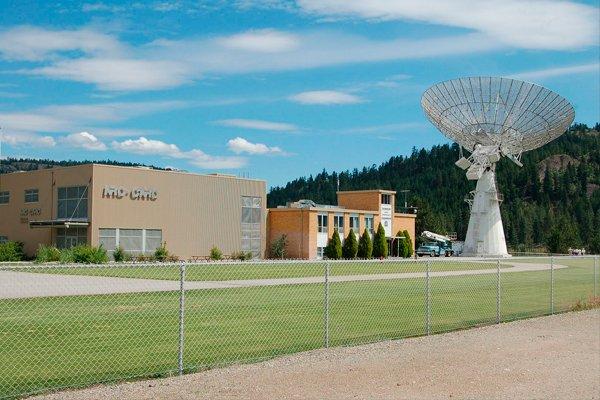 Телескоп Dominion Radio Astrophysical Observatory в Канаде