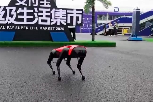 Китайские роботы-собаки AlphaDog