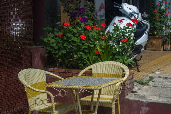 Далат, кафе в европейском стиле.
