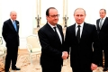 Встреча Владимира Путина с Франсуа Олландом.