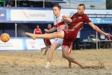 Пляжный футбол в первом этапе Евролиги 2016.