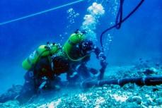 Трансатлантический интернет-кабель, который обслуживают водолазы