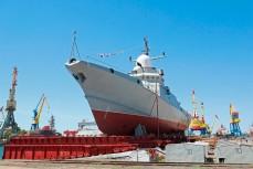 Строительство Россией кораблей в Керчи