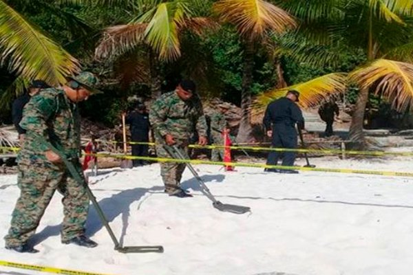 Минеры ищут на острове Игуана неразорвавшиеся американские бомбы