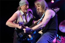 Роджер Гловер и Стив Морс, музыканты группы Deep Purple