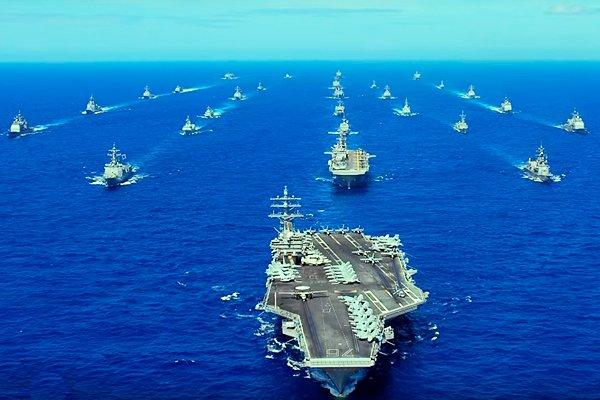 Авианосная ударная группа ВМС США