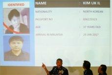 Пресс-конференция в штаб-квартие полиции в Куала-Лумпур, Малазия.