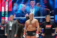 Российский боец смешанного стиля (ММА) Федор Емельяненко