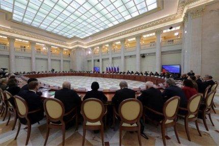 Совместное заседание Совета по культуре и искусству и Совета по русскому языку, Санкт-Петербург, 2 декабря 2016.