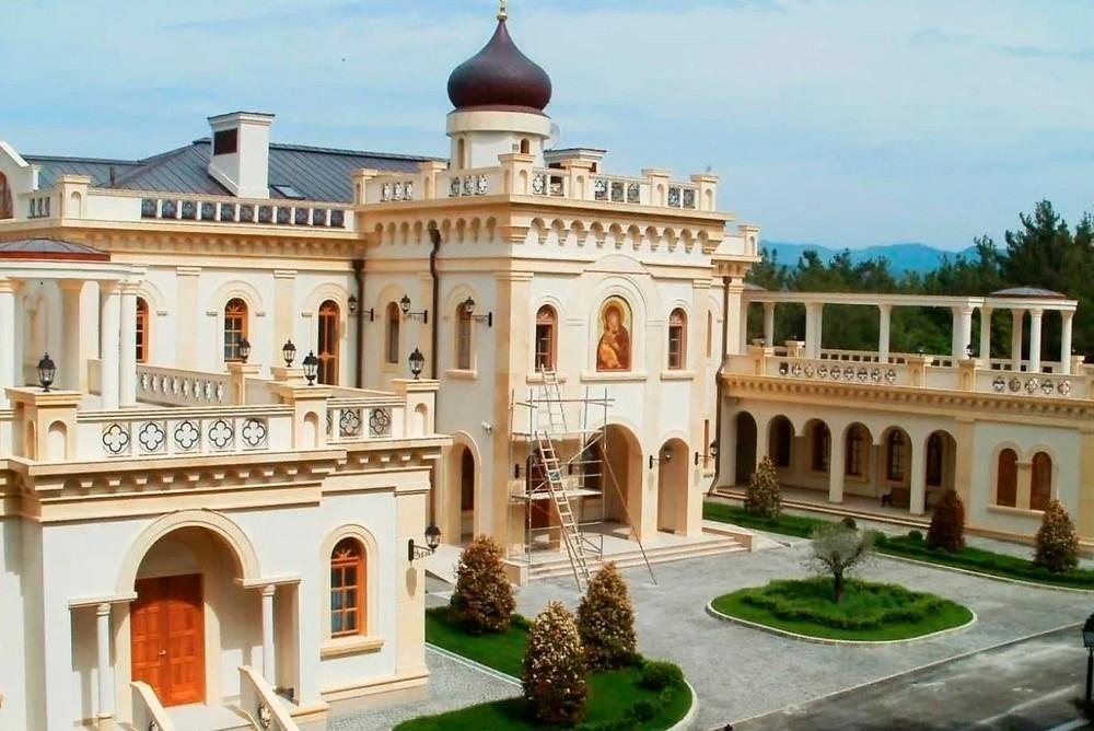 Резиденция Патриарха Кирилла под Геленджиком