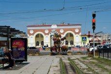 ЖД вокзал в Евпатории