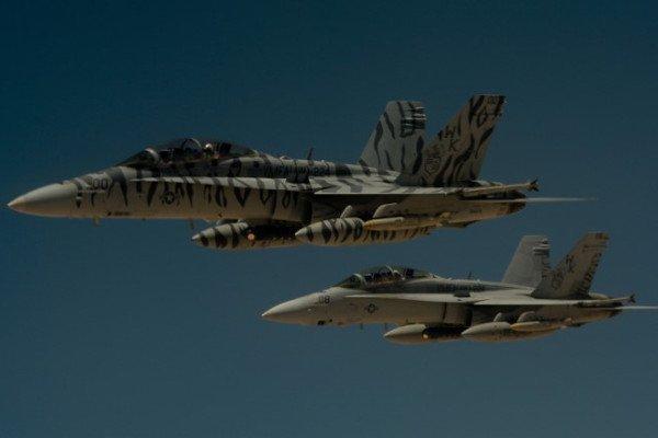 Авиаудар по базе в Сирии
