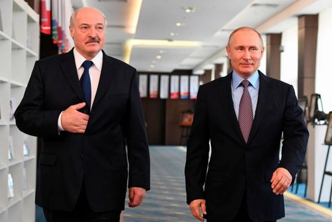 Путин и Лукашенко обсудили ситуацию с «вагнеровцами»