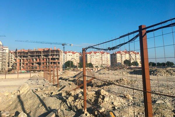 Строительство второй очереди жилого комплекса «Черноморский-2»