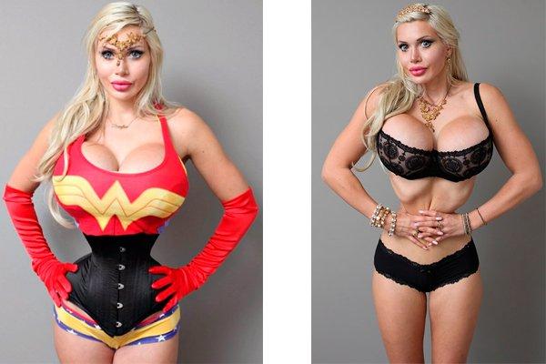 Пикси Фокс удалила шесть нижних рёбер, чтобы быть похожей на куклу Барби