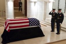 Похороны военного в США