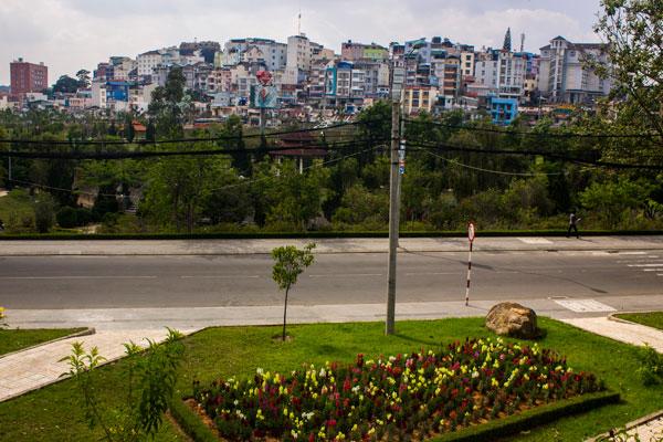 Далат, Вьетнам, вид на город.