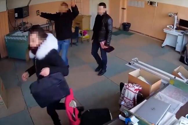 Одесские полицейские обворовывают производство при обществе слепых