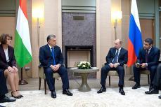 Премьер-министр Венгрии Виктор Орбан и Владимир Путин.