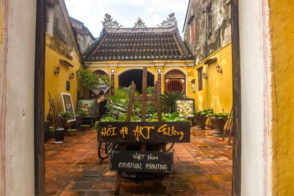 Арт-объекты в Хойане. Вьетнам.