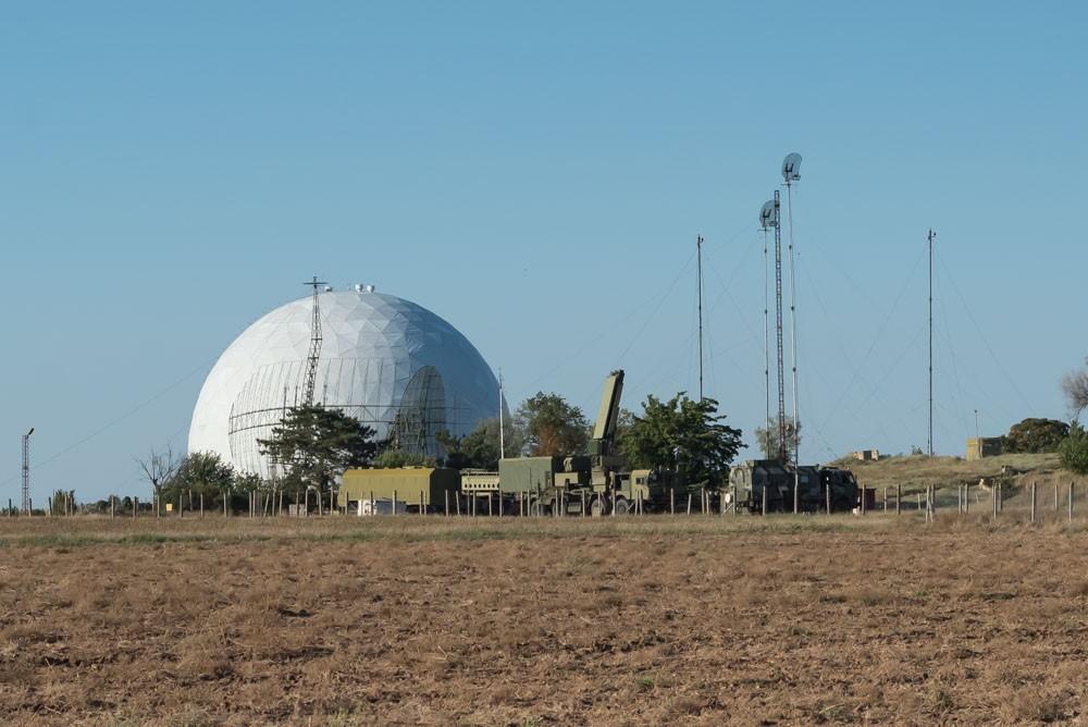 Российские зенитно-ракетные комплексы в Крыму