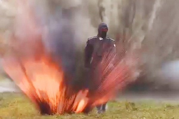 4 взрыва— иницарапины: размещено видео тестирования экипировки «Ратник»