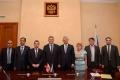 Встреча заместителя Министра здравоохранения Сергея Краевого с Министром здравоохранения Республики Ливан Ваелем Абу Фауром.