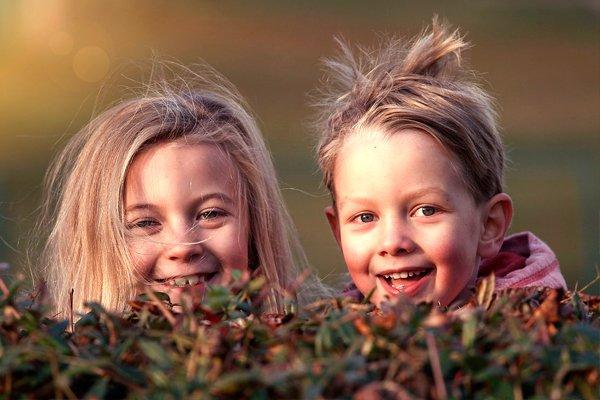Улыбающиеся дети