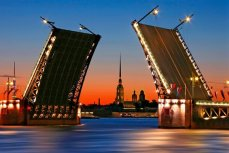Санкт-Петербург, разводной мост