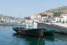 Лодки в бухте Балаклавы