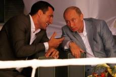Путин и Кличко