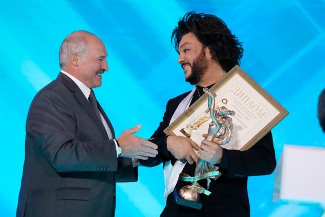 Лукашенко и Киркоров