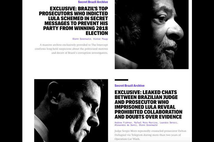 Переписки бразильского министра юстиции и общественной безопасности Сержиу Мору